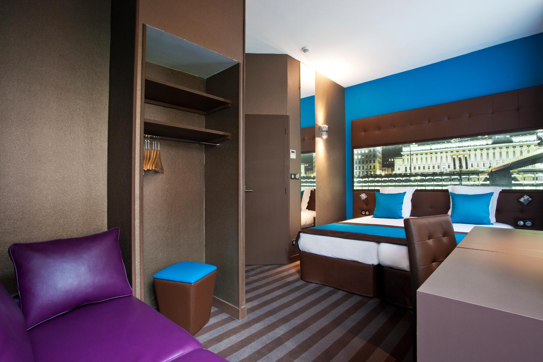 Chambre familiale h tel des savoies h tel 3 toiles lyon for Hotels 3 etoiles lyon