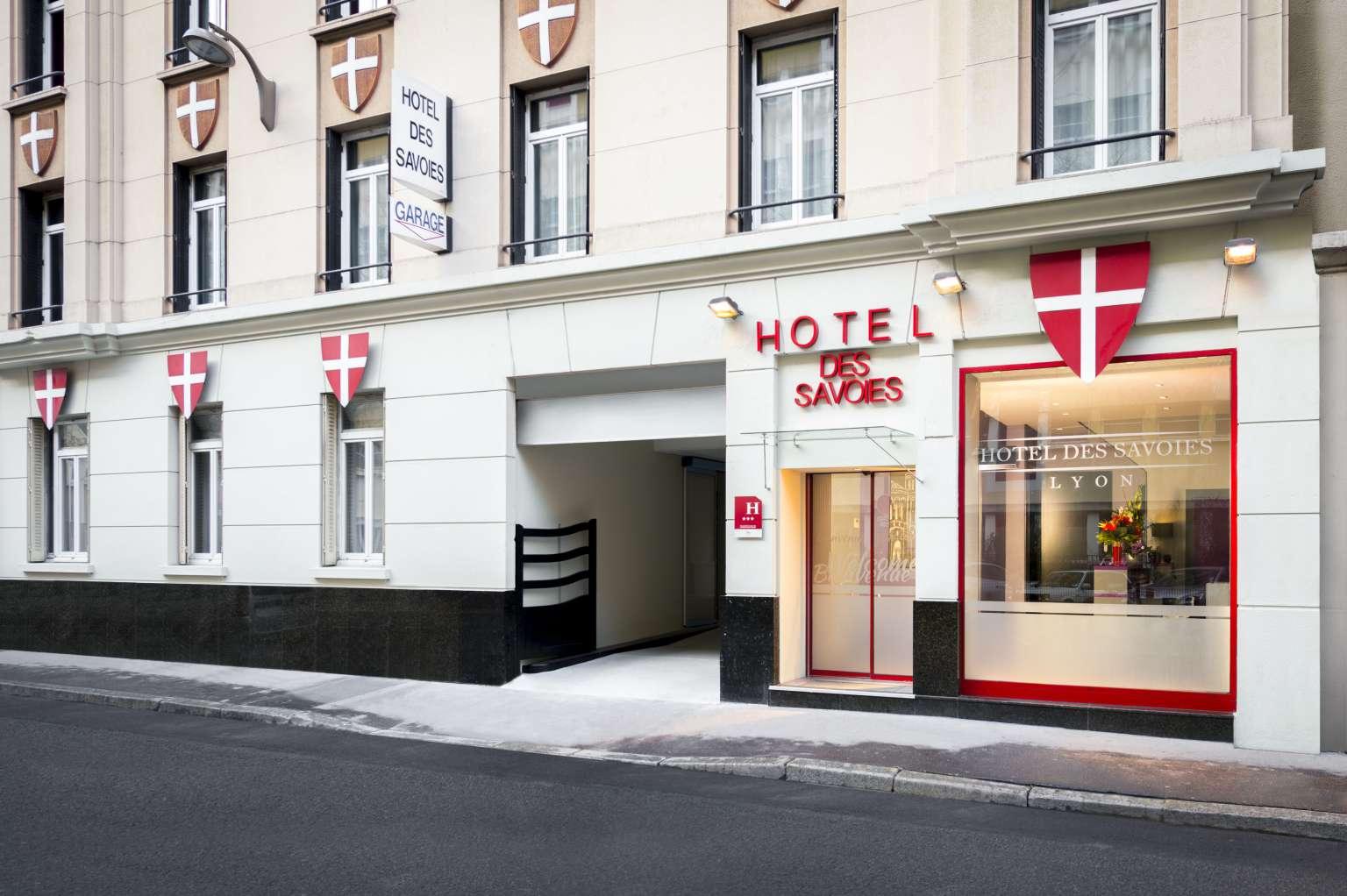 H tel lyon 3 toiles centre ville h tel des savoies for Hotels 3 etoiles lyon