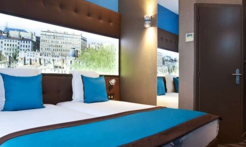 Double Classic Rooms of the Hôtel des Savoies 3-stars hotel - Lyon Perrache
